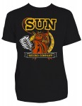 T-shirt Steady - Sun Records Rooster with Mic
