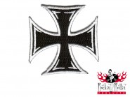 Mighty Texx Aufnäher - Iron Cross