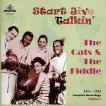 CD - Cats and the Fiddle  Start Jive Talkin 1947-50