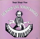LP - Rockin Civil Servant And His File Boys - Boogie Woogie Piano