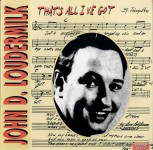 LP - John D. Loudermilk - That's All I've Got