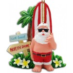 Holiday Ornament - Got Surf Santa