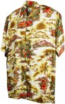 Hawaii - Shirt - Palm Island Senf
