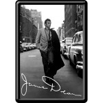 Blechpostkarte - James Dean - Road