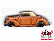 Hot Rod Pin - Street Rodder, gold