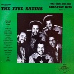 LP - Five Satins - Greatest Hits Vol. 3