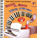 CD - VA - Rock And Roll With Piano Vol. 6