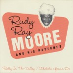 Single - Rudy Ray Moore - Rally In The Valley , Whatcha Gonna Do