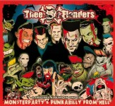 CD - Thee Flanders - Monsterparty / Punkabilly From Hell