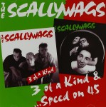 CD - Scallywags - 3 Of A Kind - Speed on 45