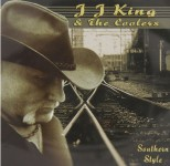 CD - JJ King & The Coolers - Southern Style