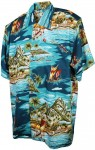 Hawaii - Shirt - Madagascar Turquoise