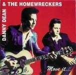 CD - Dean Danny & The Homewreckers - Move it