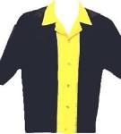 Loungemaster Bowlingshirt - Blank-Gold