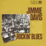 LP - Jimmie Davis - Rockin' Blues
