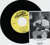 Single - Arthur Blues Crudup - She's My Baby/The Moon Is Rising