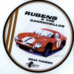 LP - Rubens & The Barrichellos - Gran Turismo