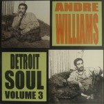LP - Andre Williams - Detroit Soul Vol. 3