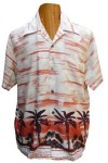 Hawaii - Shirt - Retro Classic Dark Red
