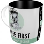 Mug - Coffee First
