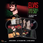 LP - Elvis Presley - Live In The 50s - The Complete Tour Recordings
