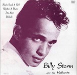 LP - B. Storm & The Valliants - Same Title (Black Rock and Roll,