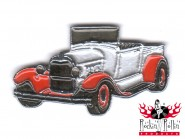 Hot Rod Pin - Oldtimer, silber