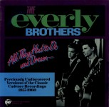 LP - Everly Brothers - All they had to do was dream