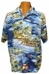 Hawaii - Shirt - Madagascar Blue