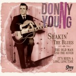Single - Donny Young - Shakin' The Blues