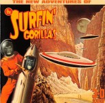 CD - Surfin' Gorillas - The New Adventures Of