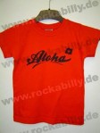 Kinder Shirt - Aloha, Red