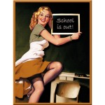 Magnet - Pin Up - School