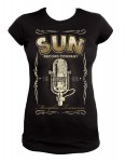 Girl-Shirt Steady - Sun Records Border Mic  L