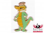 Pin - Cartoon Krokodil