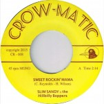 Single - Slim Sandy & The Hillbilly Boppers - Sweet Rockin' Mama