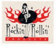 Aufkleber - Dynamite Shop Rockin Rollin Products