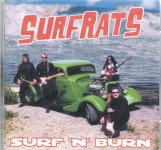 CD - Surfrats - Surf'n'burn