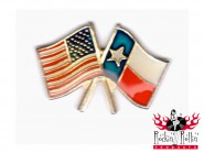 Pin - Texas USA Flagge
