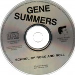 CD - Gene Summers - School Of Rock N Roll