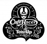 Daredevil Aufkleber - Cafe Racer Ton-Up