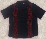 Kids - Jungenhemd - My Red Leo Striped Shirt