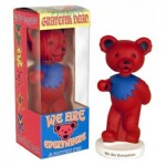 Wackelfigur - Greatful Dead Bear - red