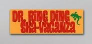 Aufkleber - Ska-Vaganza gelb rot