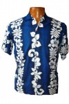 Hawaii-Shirt Für Kinder - San Diego Blau