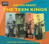 CD - Teen Kings - Billy Pat Ellis, James Morrow, Jack Kennelly) Teen Kings - Are You Ready? Live Tv Recordings From 1956
