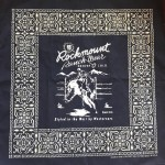 Bandana - Rockmount Bronc, navy blau