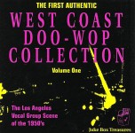 CD - VA - West Coast Doo Wop Collection - Volume One