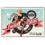 Metal Postcard - Lucky Star